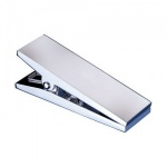 Engraved Silver Plated Document Clip (Large)