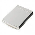 Engraved Silver Plated Smooth Memo Pad Holders