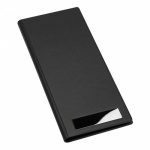 Black PU Leather Business Cards Organizer