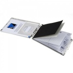 Engraved Silver Contacts Book & Cards Case