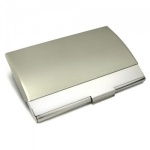 Engraved Curved Lid Business Card Cases