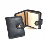 Personalised Leather Mini Sticky Notes Holder