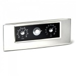 Engraved Silver Plated 3 Dial Weather Station