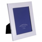 Engraved Silver Plated 5x7in Photo Frame