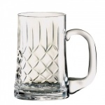 Engraved Crystal Panel Tankard in Presentation Box