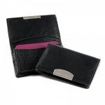 Engraved Nappa Leather Business Cards Wallet