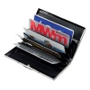 Engraved Chrome Plated Business or Credit Cards Case