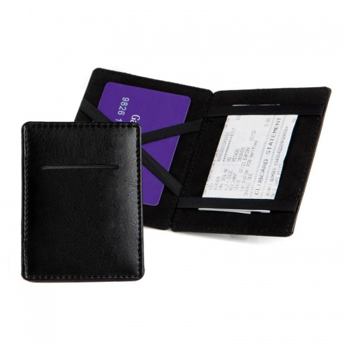 Personalised Small Leather Magic Wallet