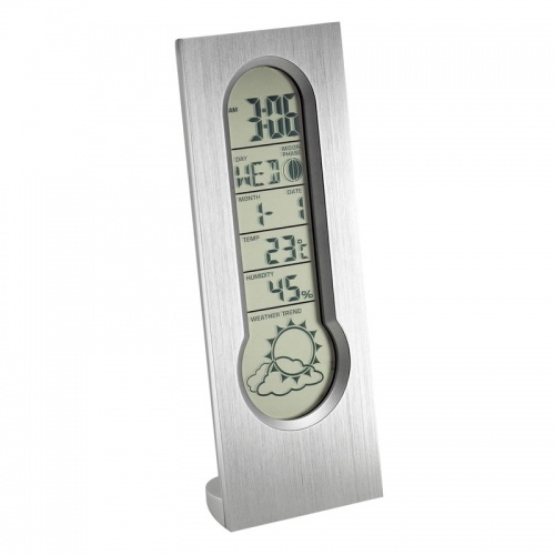 Personalised Digital Alarm Clock Weather Station