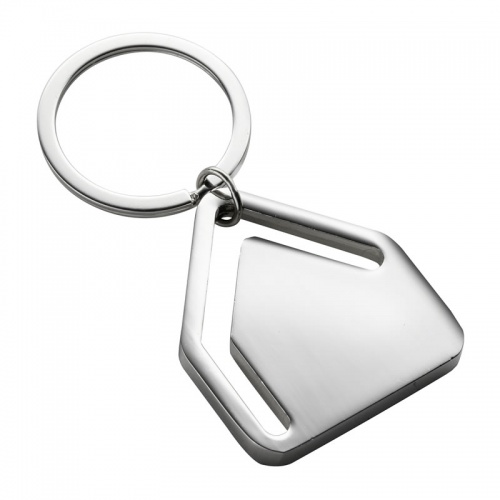 Engraved House Shape Keyring & Bookmark