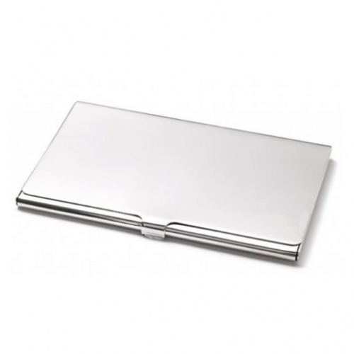 Engraved Smooth Business Card Cases