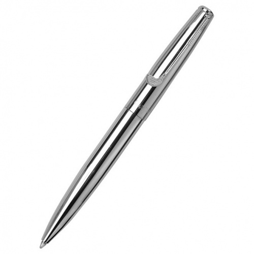 Engraved Silver Plated Golf Ballpoint Pen with Case
