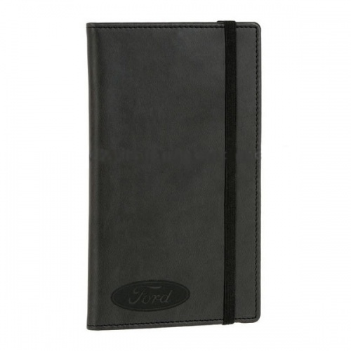 Personalised Leather Pocket Jotter Notepad
