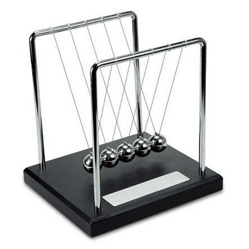 Engraved Promotional Newton's Cradle Toy