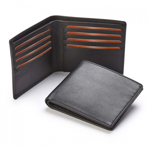 Personalised Nappa Leather Billfold Wallet