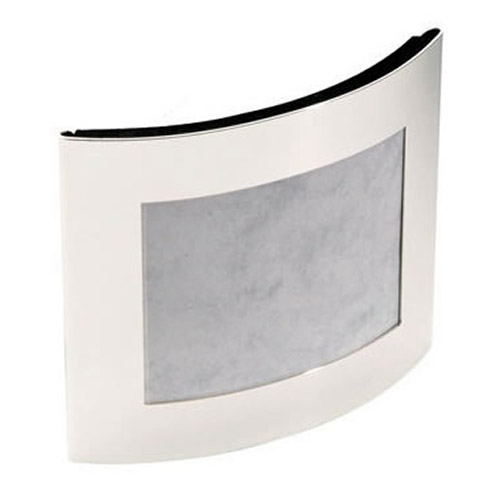 Engraved Silver Plated Curved Photo Frame 6x4in