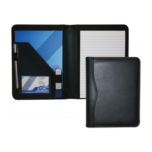 Houghton PU Leather A5 Conference Pad Holder