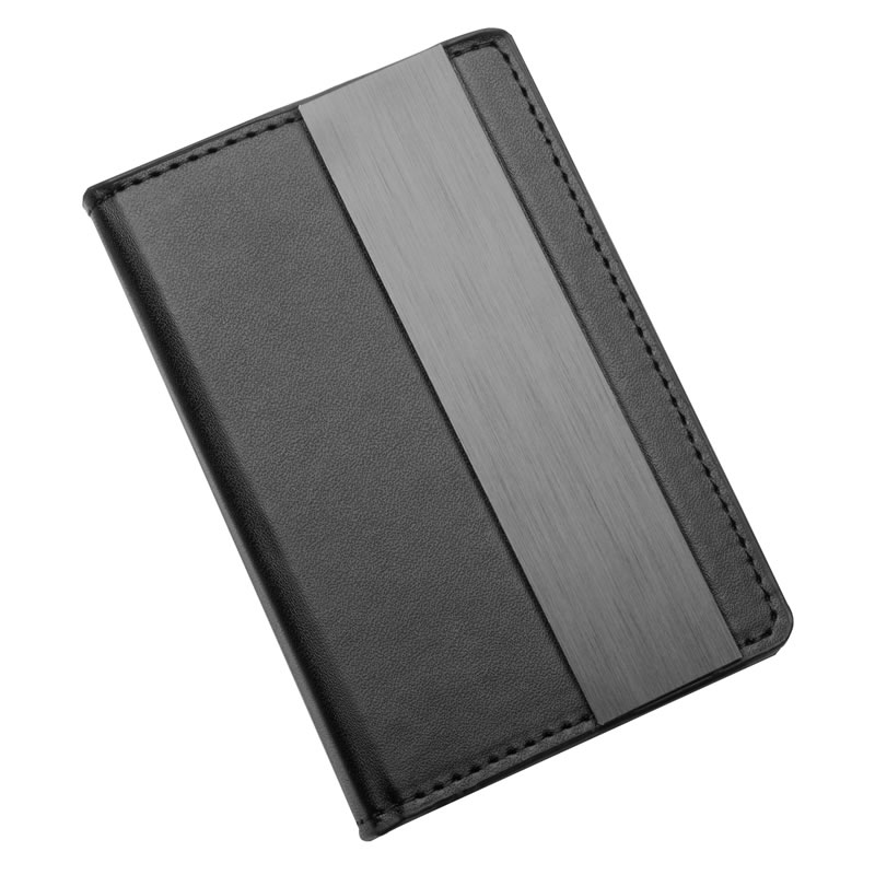 Personalised PU Leather Pocket Memo Pad Holder & Pen