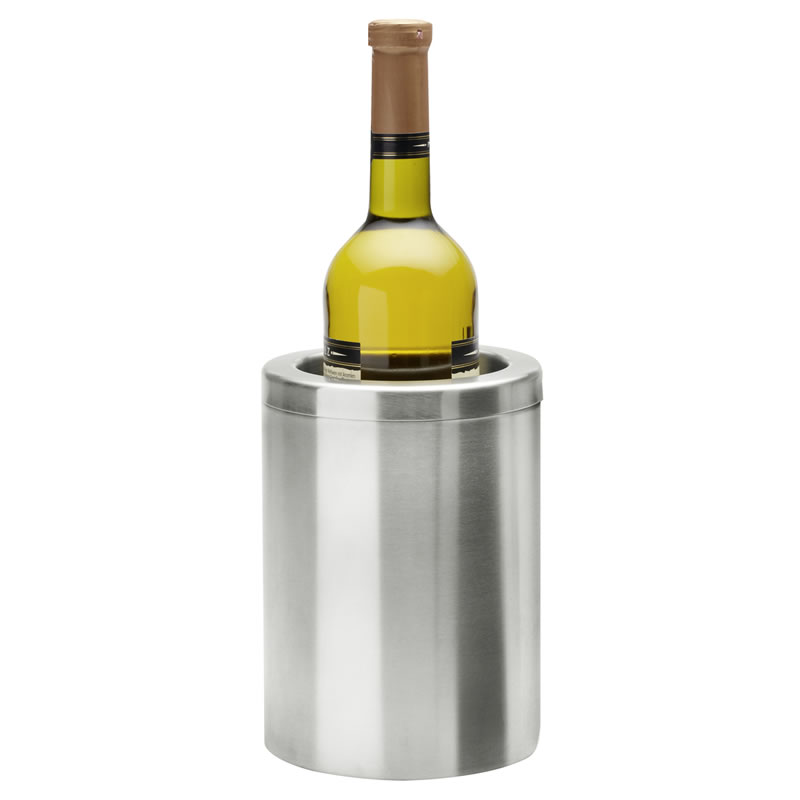 Personalised Stainless Steel Wine Bottle Cooler