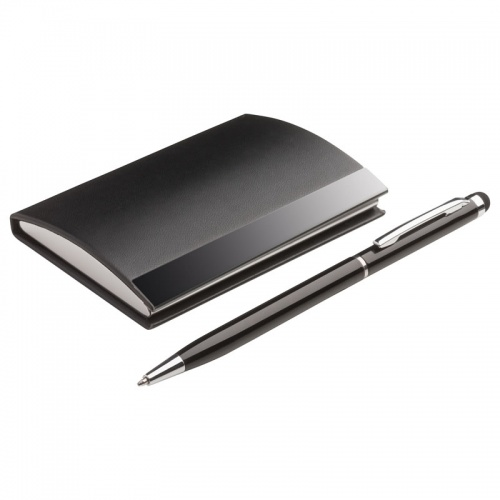 Gift Set with Business Cards Case & Pen