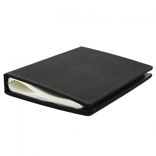 Photo Album with Black PU Leather Cover