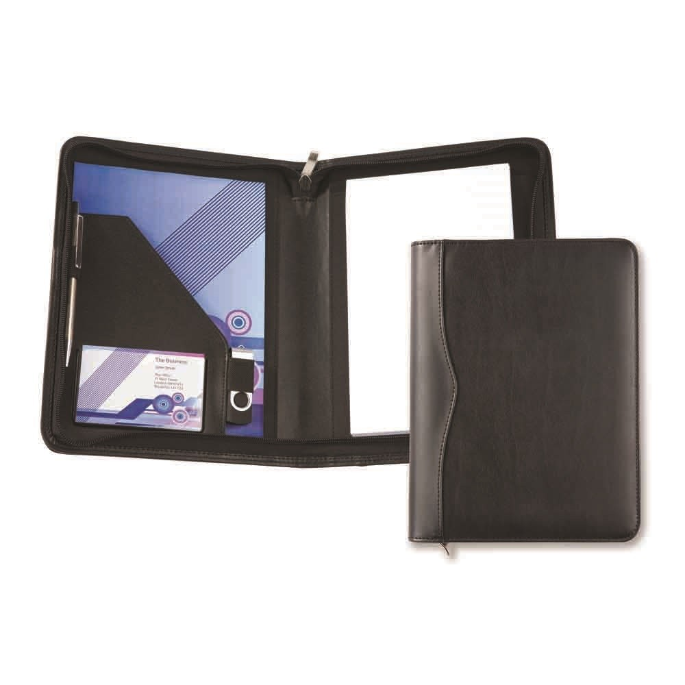 Houghton A5 Zipped Conference Pad Holder
