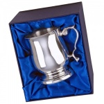 Engraved Pewter Georgian Tankard in Presentation Box