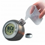 Water Powered LCD Desk Clock
